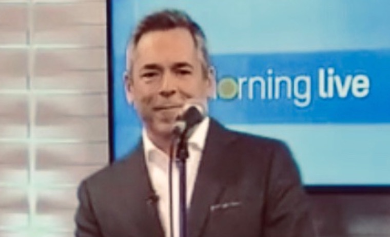 On CHCH TV 'Morning Live'