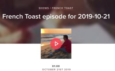 Mon interview en français avec CFMU 93.3FM